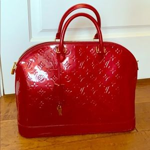 Louis Vuitton Alma GM Pomme d'Amour